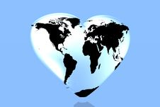 Free I Love The World Royalty Free Stock Images - 5272629