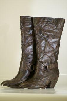 Free Ladies Boots Royalty Free Stock Photos - 5272658