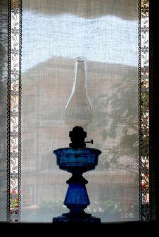 Free Blue Paraffine-lamp Royalty Free Stock Photos - 5273128