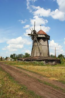 Free Old Rural Mill Stock Photo - 5273480