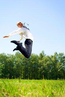 Free High Jump. Stock Photo - 5273610