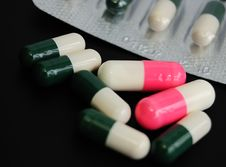 Free Drugs Royalty Free Stock Image - 5273696