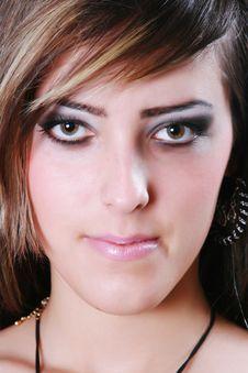 Free Bright Make-up Royalty Free Stock Image - 5273816