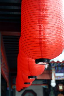 Free China S Red Lanterns. Royalty Free Stock Photo - 5274075