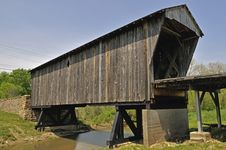 Free Old Covered Bridge Stock Images - 5274104