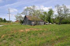 Free Old Broken Down Barn Royalty Free Stock Photo - 5274115