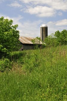 Free Old Barn In The Old South Stock Photography - 5274142