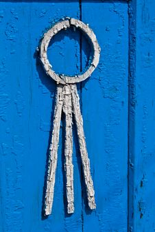 Free Fragment Of The Old Window Shutters Royalty Free Stock Photos - 5274208