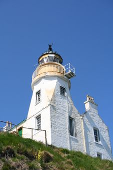 Free Lighthouse From Below Royalty Free Stock Photography - 5274437