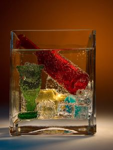 Free Still Life In A Glass.. Stock Image - 5274551