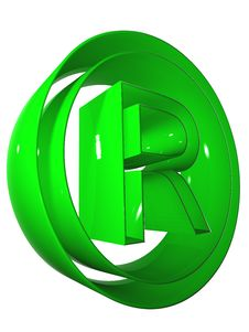 Free Symbol 3D 015 Green Stock Photography - 5274832