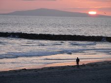 Free Newport Sunset 2 Stock Photos - 5274893