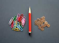 Free Writing Tools. Royalty Free Stock Image - 5275026
