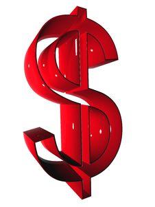 Free Symbol 3D Royalty Free Stock Photo - 5275235