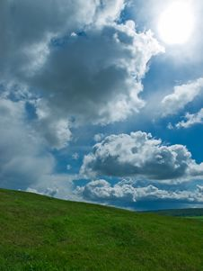 Free Sky And Grass Stock Images - 5275274