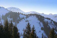 Free Winter Swiss Alps Royalty Free Stock Image - 5275356