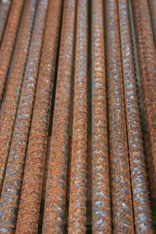 Free Rusted Steel Rods Stock Images - 5276164