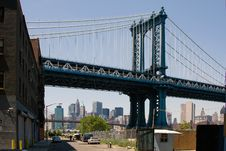 Free Manhattan Bridge Stock Photos - 5276333
