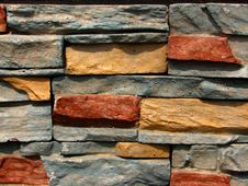 Free Stone Brick Wall Pattern 3 Royalty Free Stock Photos - 5276438