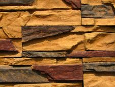 Free Stone Brick Wall Pattern 4 Stock Image - 5276511