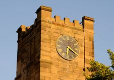 Free Arsenal Fort Clock Tower Royalty Free Stock Images - 5276879