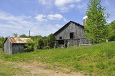 Old Shed And Barn Royalty Free Stock Image