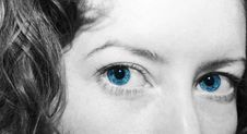 Free Blue Eyes Royalty Free Stock Photography - 5277827