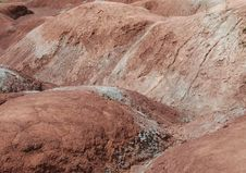 Free Close Up Of Badlands Royalty Free Stock Images - 5277859