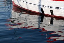 Free Boat Reflections Royalty Free Stock Photos - 5278028