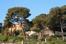 Luxury Villas In The South Of France Royalty Free Stock Images