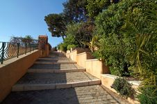 Free Walkway In The South Of France Royalty Free Stock Photos - 5278038