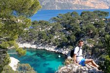 Free In The Calanques De Cassis Stock Image - 5278051
