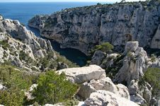 Free Calanque D En Vau Stock Photos - 5278063