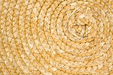 Free Spiral Straw Basket Stock Images - 5278354