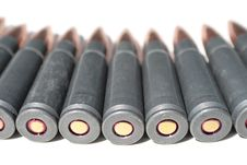 Free Ammunition Of Rifled Carabine Royalty Free Stock Photos - 5278638