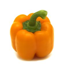 Free Fresh Orange Sweet Pepper Royalty Free Stock Image - 5278916