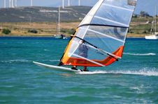 Free Windsurf Royalty Free Stock Photo - 5279185