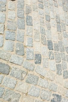 Free Stone Roadway Texture Royalty Free Stock Photography - 5279407