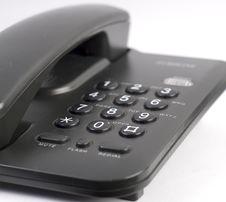 Free Black Phone Royalty Free Stock Images - 5279549