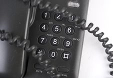 Free Black Phone Stock Image - 5279561