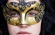 Free Masked Woman Royalty Free Stock Photography - 5279657
