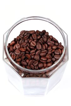 Free Coffee Beans In A Jar Stock Photos - 5279713