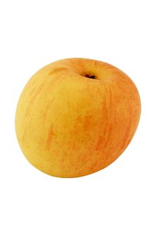 Rosy Apple Stock Image