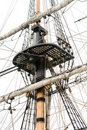 Free Mast And Crows Nest Royalty Free Stock Photo - 5280995