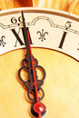 Free Twelve O Clock Shown On A Clock Royalty Free Stock Image - 5282156