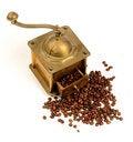 Free Antiquity Coffee Machine Royalty Free Stock Photo - 5282775