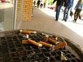 Free Stubs Of Cigarettes Stock Photo - 5284130