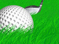 Free Golf Ball In The Rough Stock Photo - 5286850