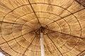 Free Straw Parasol Royalty Free Stock Photos - 5287238