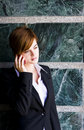 Free Businesswoman At Phone Stock Photo - 5289160